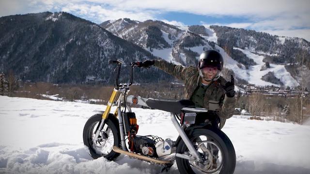 画像: Jack Mitrani Electric Concept Ride | Harley-Davidson youtu.be