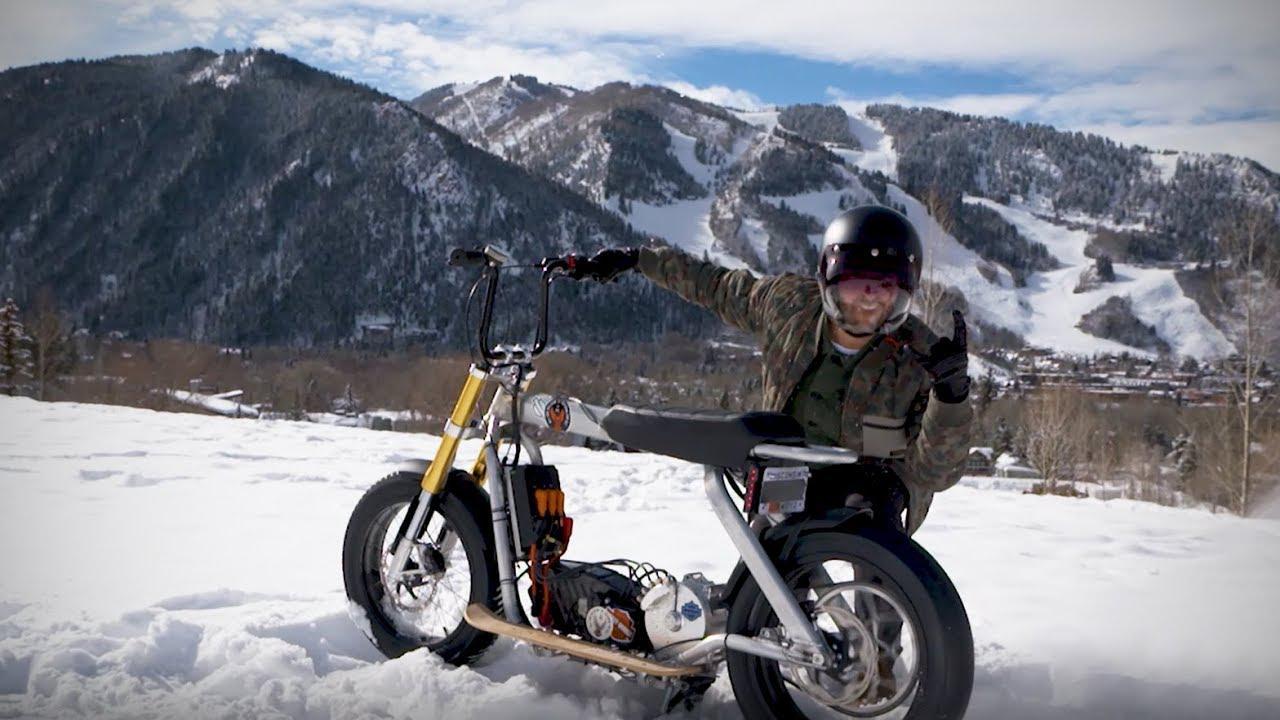 画像: Jack Mitrani Electric Concept Ride   Harley-Davidson youtu.be