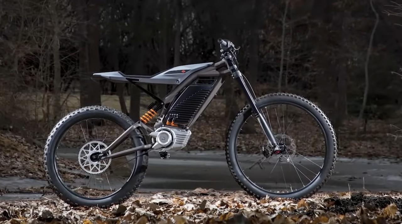 画像: 2019年に公開された、ハーレーダビッドソンの電動ライトウェイト・ダートバイクのプロトタイプ。 youtu.be