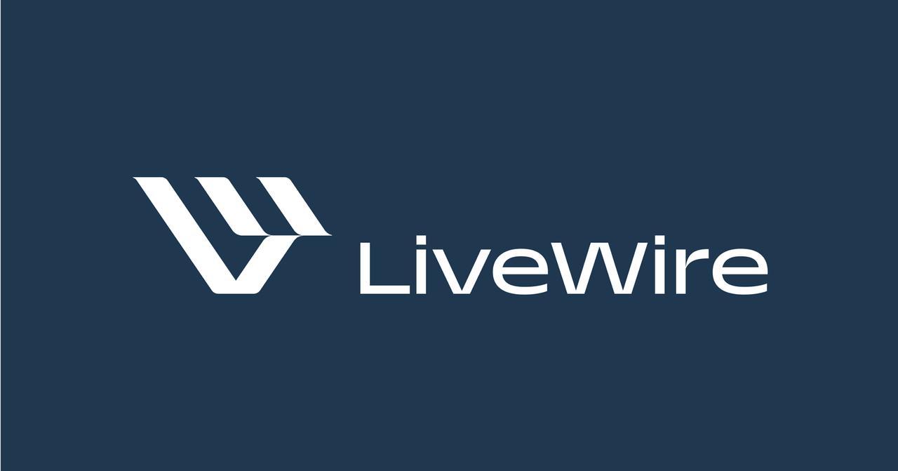 画像: ライブワイヤーのブランドロゴ。これまで販売されていた電動バイクのライブワイヤーにはハーレーダビッドソンのロゴが付いていましたが、今後はこのロゴが付くことになるようです。 www.facebook.com