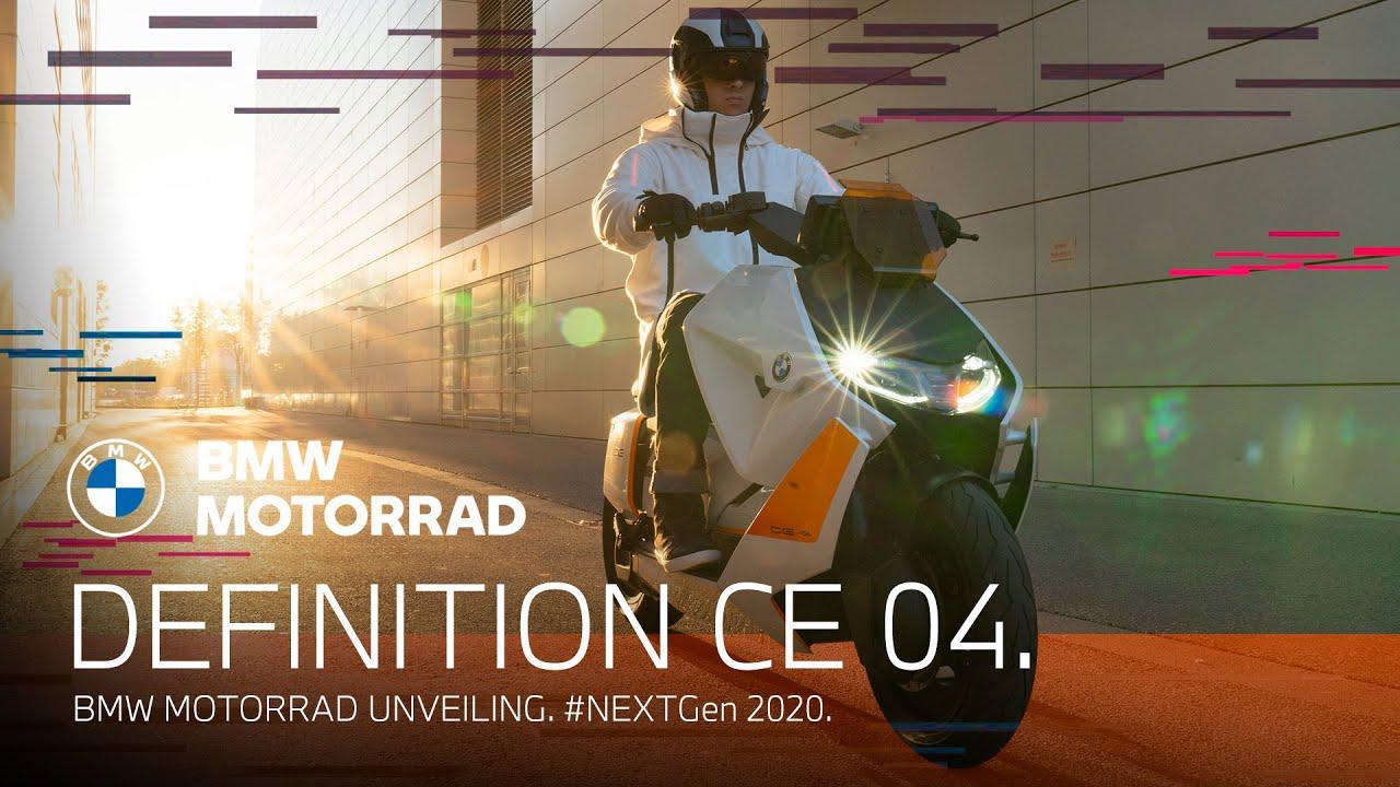 画像: BMW Motorrad Definition CE 04 - Unveiling. | #NEXTGen 2020. youtu.be