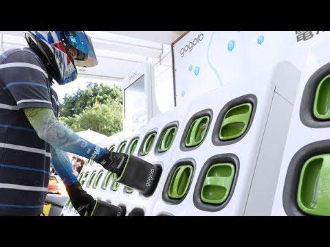 画像: 台湾で急成長、電動スクーター「Gogoro」 youtu.be