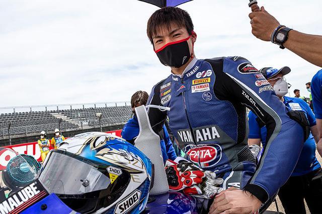 画像: 昨年度の全日本JSB1000王者で、今年からSBK参戦の野左根航汰(ヤマハ)はスーパーポールレース9位でフィニッシュ。2019年ミサノ・レース1で8位となった高橋裕紀(ホンダ)以来の、日本人によるSBKトップ10入りを果たしました。 race.yamaha-motor.co.jp