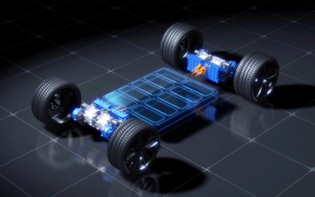 画像: 350kW試作電動モーターを4基搭載した活用イメージ図。 global.yamaha-motor.com
