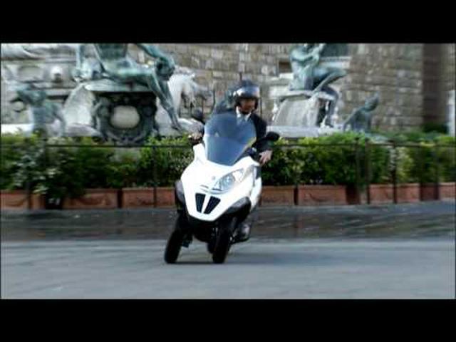 画像: Piaggio MP3 Hybrid - Official Launch Video youtu.be
