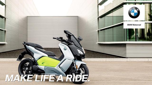 画像: IN THE SPOTLIGHT: The new BMW C evolution youtu.be