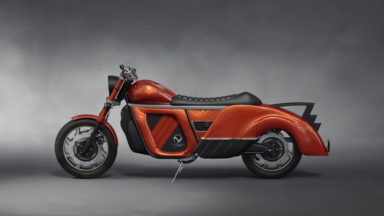 画像2: ザイザー電動バイクのプロトタイプ図。様々なカラーバリエーションが用意される、とのことです。 zaisermotors.com