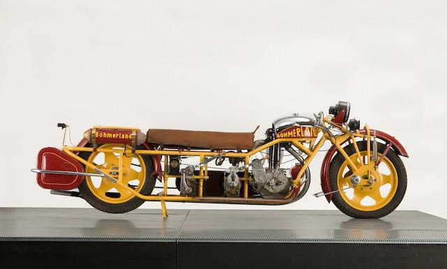 画像: 2018年にボナムズオークションに出品された、1937年型ボーマーランド 603cc ラントゥーレン。なお落札価格は6万3,250英ポンド≒978万円でした! ちなみにラントゥーレンとは、ロングツーリングの意味です。 www.bonhams.com