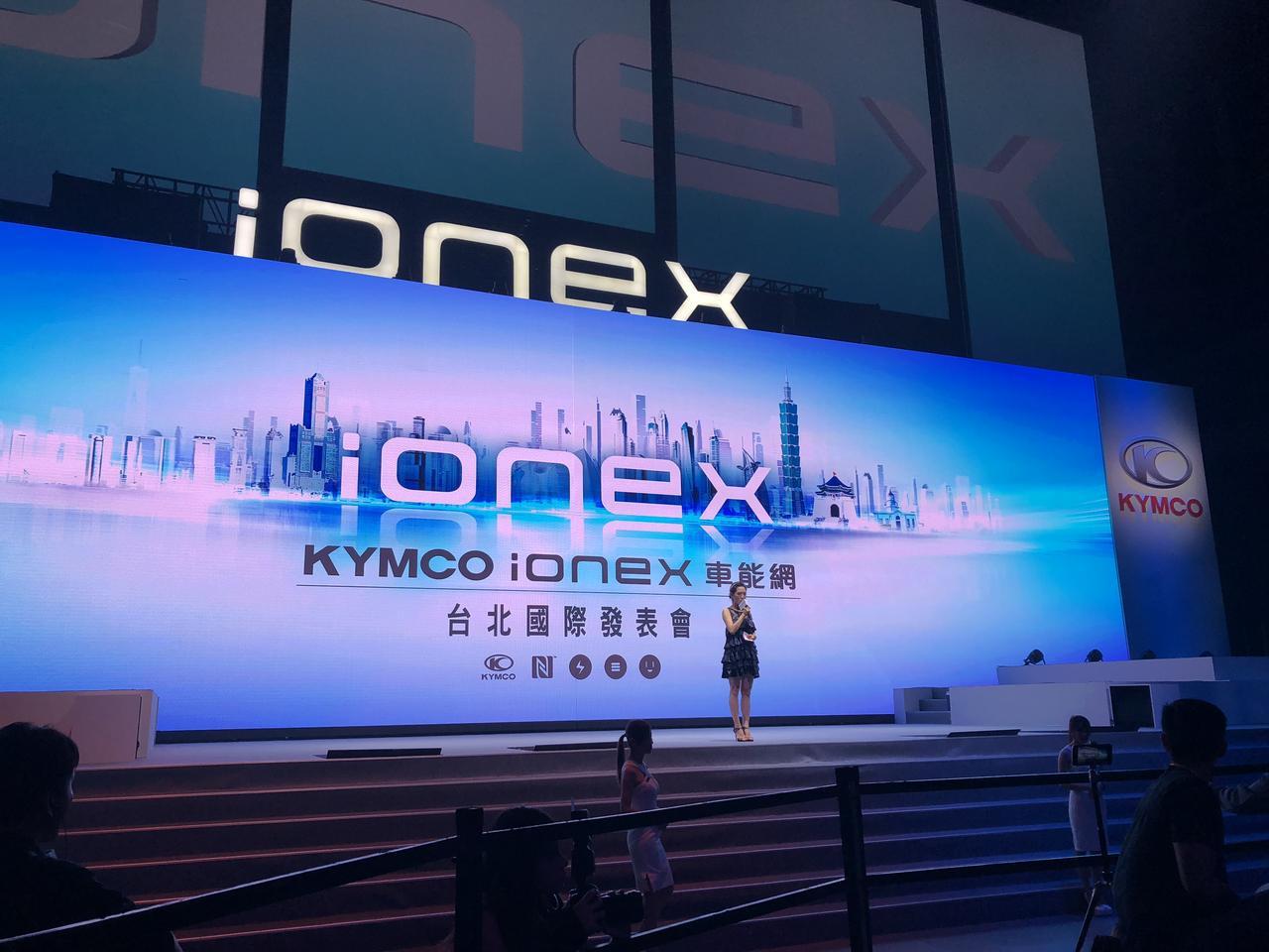 画像: 独自のEVプラットフォームである『ionex』を搭載した 電動スクーター2機種を発表! KYMCO New Many 110 EV/Nice 100 EV - webオートバイ