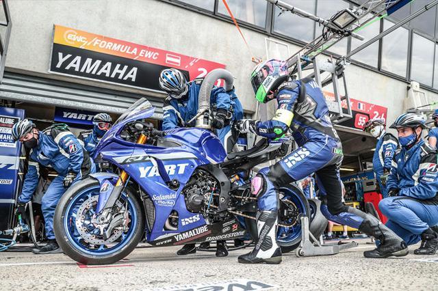 画像: 予選、ウォームアップセッションでも最速タイムを記録し、優勝候補にあげられたYARTでしたが・・・。 race.yamaha-motor.co.jp