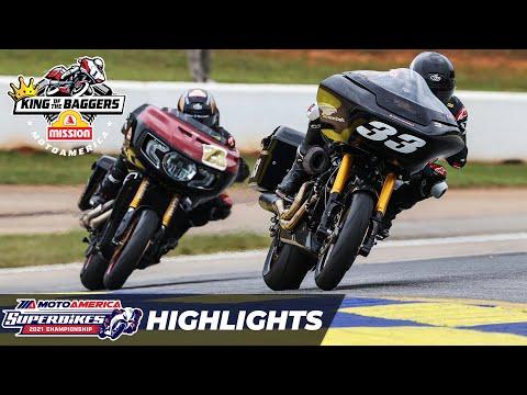 画像: MotoAmerica Mission King Of The Baggers Race Highlights at Road America 2021 youtu.be