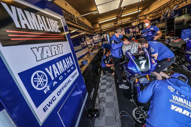 画像: この週末に速さを見せつけながらも、あえなくYARTのヤマハYZF-R1は戦線離脱することに・・・。 race.yamaha-motor.co.jp