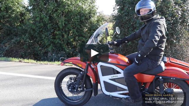 画像1: Electric Ural Prototype Sidecar Motorcycle vimeo.com