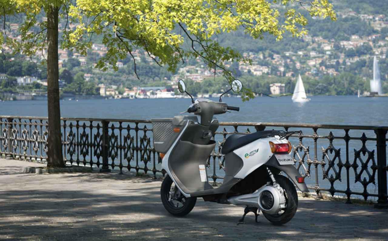 画像: 世界の電動2輪車図鑑:1 スズキe-Let's/e-Let's W - LAWRENCE - Motorcycle x Cars + α = Your Life.
