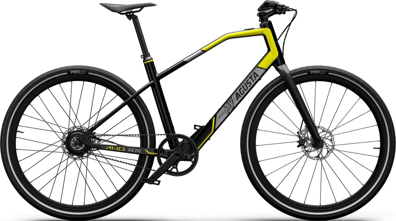 画像: AMOシリーズの「RR」はイエロー&ブラック(写真)、レッド&ブラックの2種類のカラーリングが用意されています。価格は3,075ユーロ〜≒40万2,394円〜です。 www.mvagusta.com