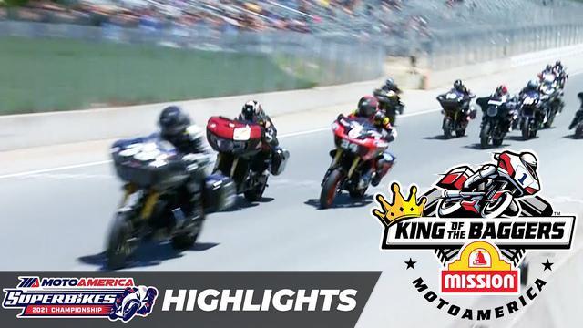 画像: SEASON FINALE! MotoAmerica Mission King of the Baggers Race Highlights at Laguna Seca 2021 youtu.be