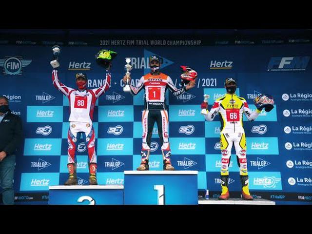 画像: 26 min 2021 Hertz FIM Trial World Championship - Charade (France) youtu.be
