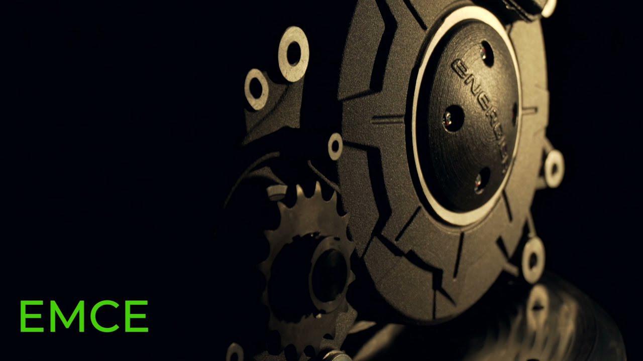 画像: EMCE, the new electric motor of Energica motorcycles youtu.be
