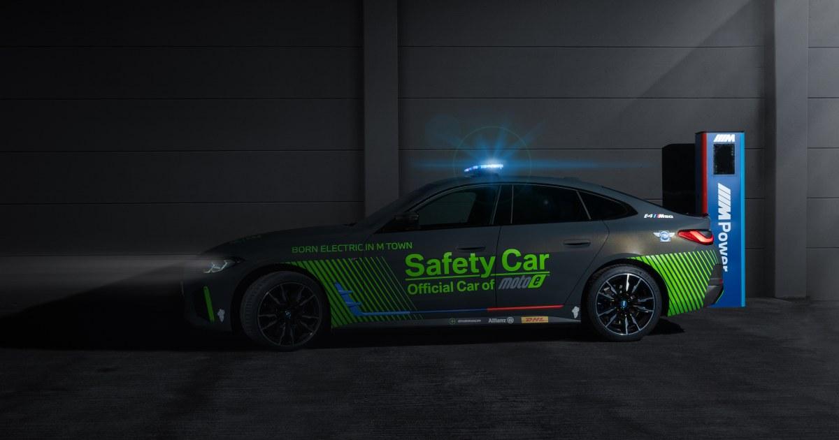 画像: The BMW i4 M50 Safety Car