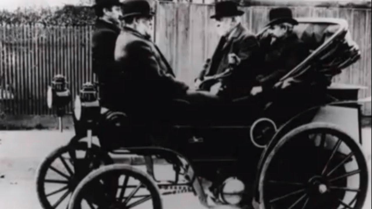 画像: Gottlieb Daimler│automobile inventor youtu.be