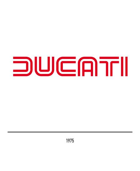 画像: ちなみに1975〜1985年の間使われたドゥカティのロゴも、G.ジウジアーロの作品です。 www.museodelmarchioitaliano.com