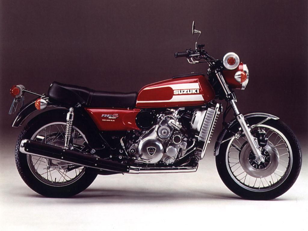 画像: 国産2輪初のロータリー(ヴァンケル)エンジン搭載モデル、スズキRE-5初期型。そのメーターケースは「茶筒」と呼ばれ、奇異なデザインはあまり評価されませんでした。なおRE-5後期型は、より大人しいスタイリングになっています。 www.jsae.or.jp