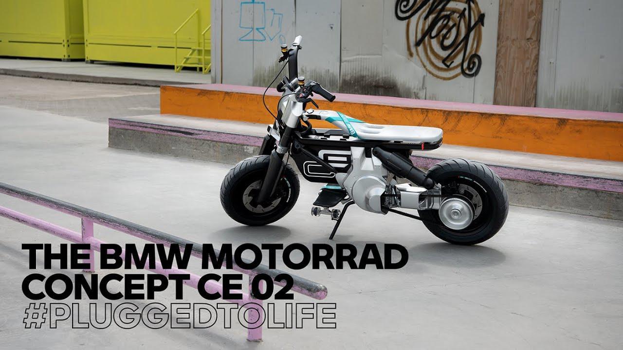 画像: Boundless freedom for your city! The all-new BMW Motorrad Concept CE 02 youtu.be