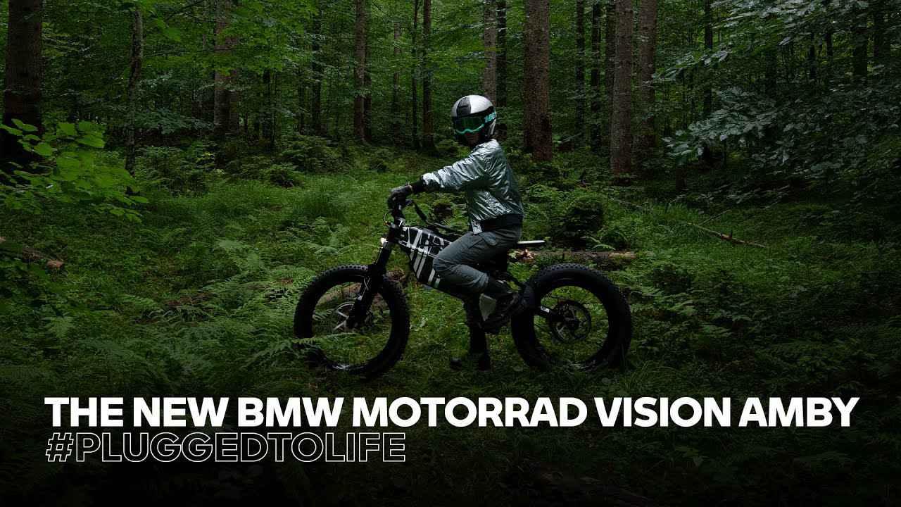 画像: MOVE YOUR OWN WAY! The new BMW Motorrad Vision AMBY youtu.be