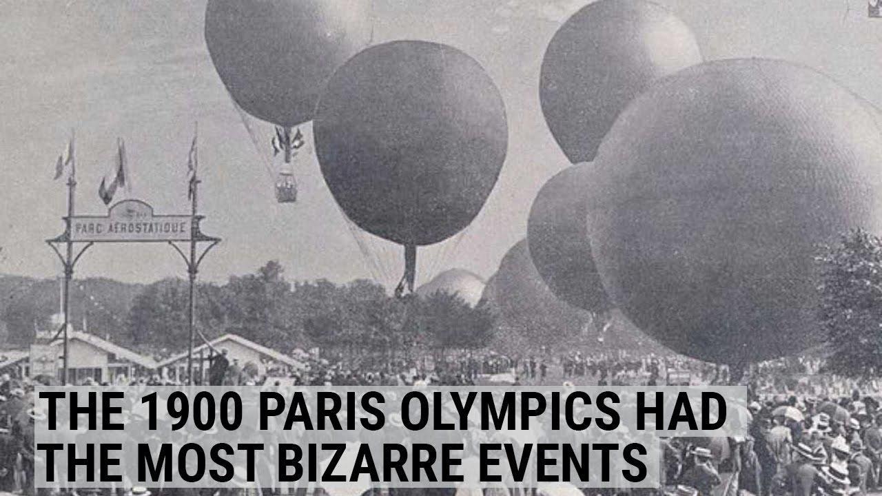 画像: The 1900 Paris Olympic Games had the most bizarre events imaginable youtu.be
