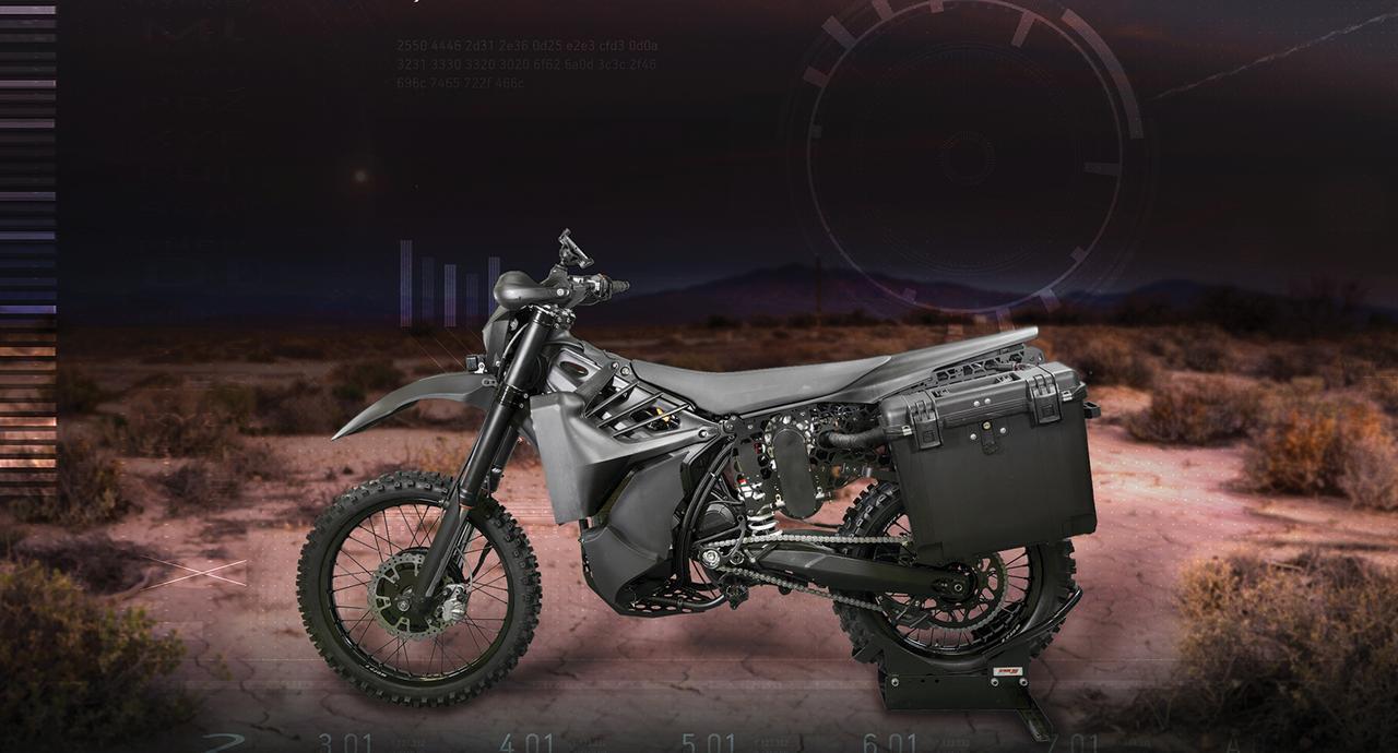 画像: 平和に使いたい? 軍用ハイブリッド・モーターサイクル! - LAWRENCE - Motorcycle x Cars + α = Your Life.