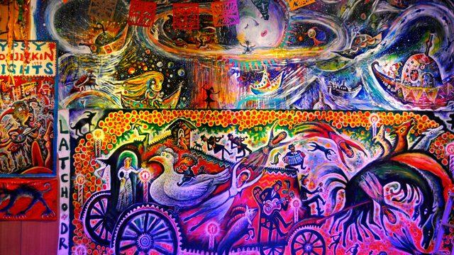 画像: 奇想天外、ダイナミック、極彩色のコージズキン・ワールド:ちひろ美術館・東京