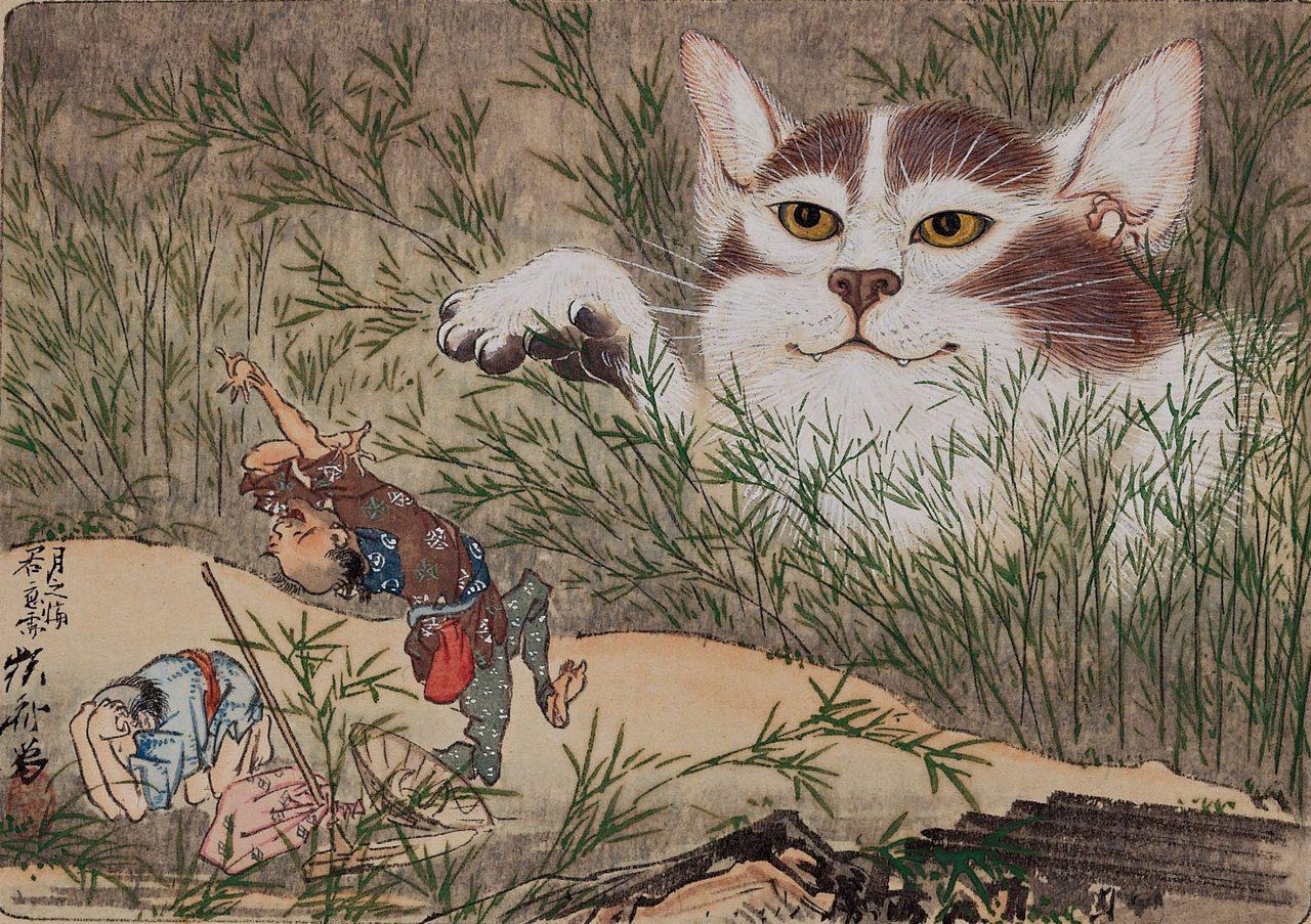 画像: 河鍋暁斎 《惺々狂斎画帖(三)》(20図のうち) 明治3(1870)年以前 個人蔵 ※後期のみ展示