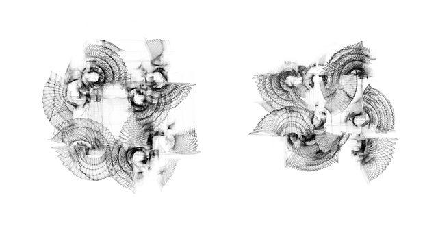 画像: 最先端表現と古美術のマリアージュ《木本圭子展 velvet order(ベルベットオーダー/柔らかい秩序)》祥雲