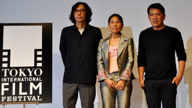 画像: 左から行定勲監督、ソト・クォーリーカー監督、ブリランテ・メンドーサ監督