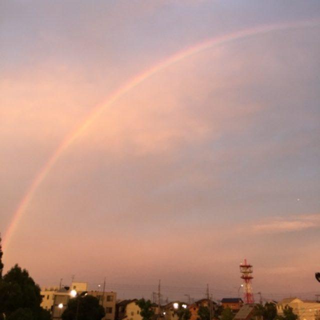 画像: 虹