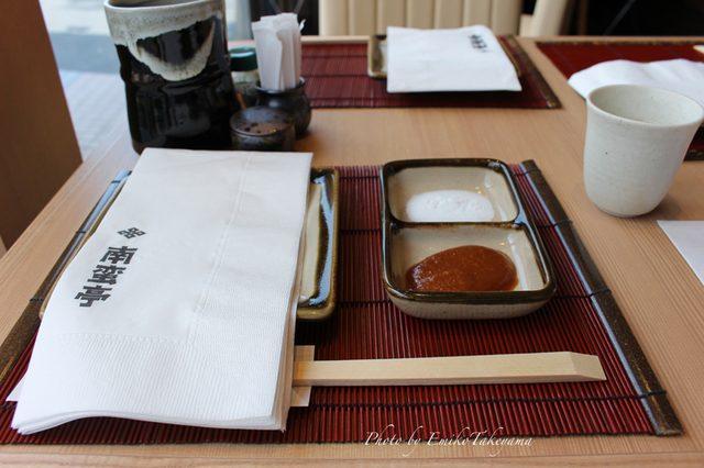 画像: テーブルセッティング