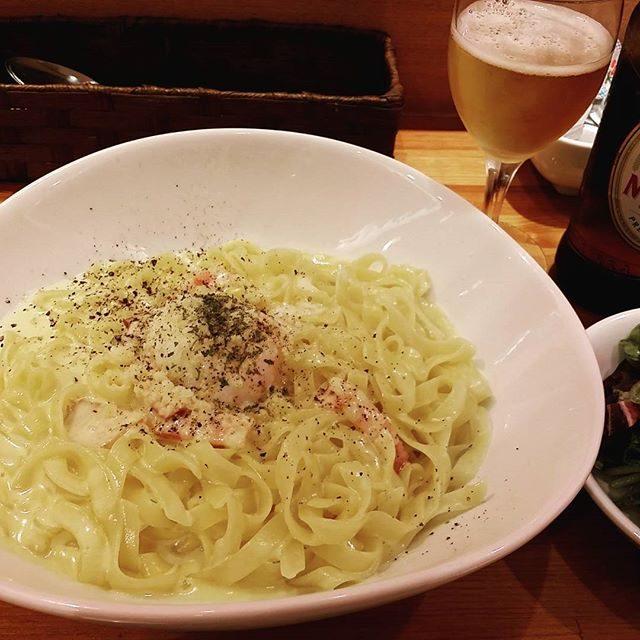 画像: #生パスタ #ランチ  #大盛300㌘♪ instagram.com
