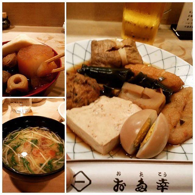画像: 寒い冬の夜はおでんでしょっ #おでん #銀座おでん#お多幸銀座八丁目店 #お多幸 #oden #tokyo #Japan www.instagram.com