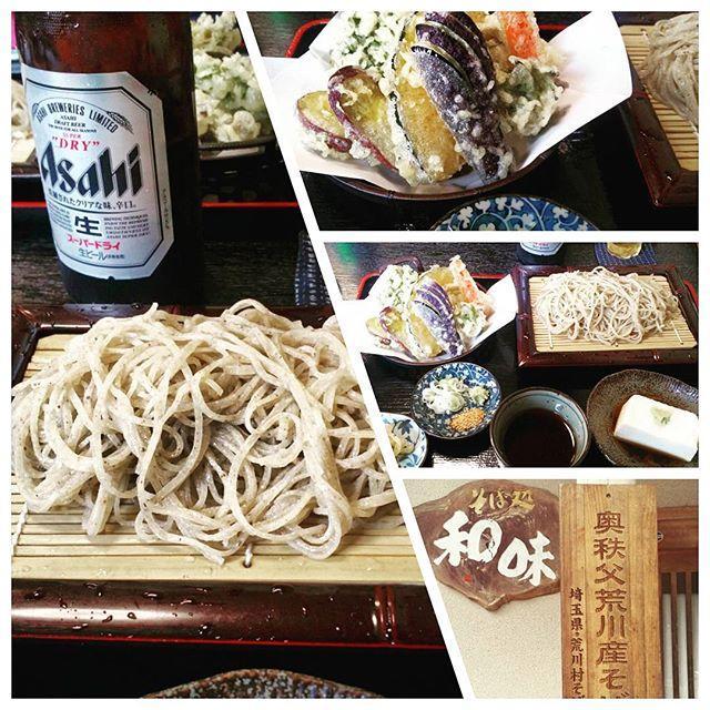 画像: 秩父名産お蕎麦でlunch♪ #和味#蕎麦#そば処#秩父そば#soba #秩父#埼玉県#Japan #ランチ www.instagram.com