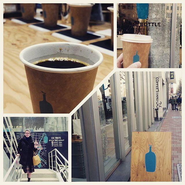 画像: 話題のブルーボトルコーヒーに行ってみた♪ #ブルーボトルコーヒー #ブルーボトルコーヒー銀座 #期間限定ショップ#銀座コーヒー#話題 #コーヒー #コーヒーショップ#銀座#tokiyo #Japan www.instagram.com