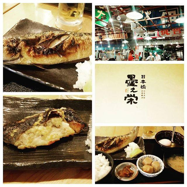 画像: ヨガ後は日本橋で魚定食ランチ♪ #ランチ#ランチ日本橋#墨之栄#さば一本焼き#魚定食 #ヨガ後#日本橋 #コレド室町#tokyo #Japan www.instagram.com