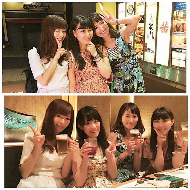 画像: 昨日の女子会✨ 女子会楽しっ #女子会#モデル#六本木#女子#事務所#お仕事仲間 #お仕事 #飲み会 #飲み #ビール大好き #japanese#japanesemodel#tokyo#roppongi #japan www.instagram.com