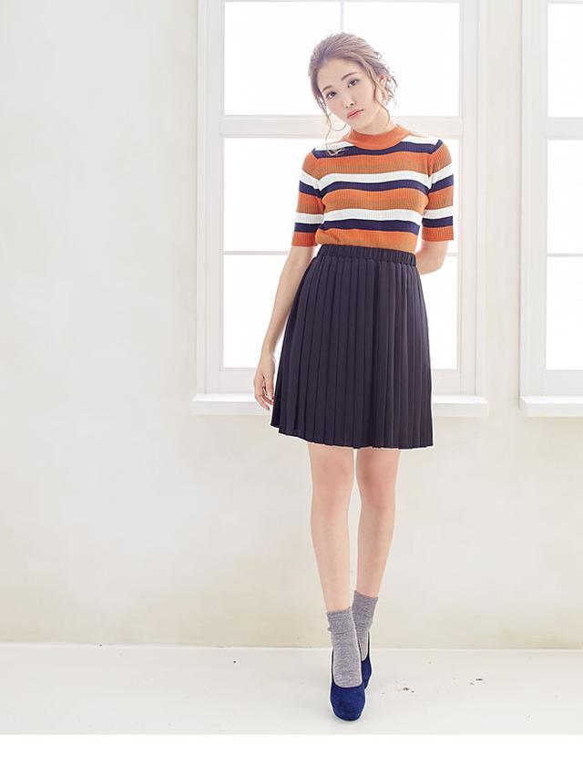 画像: 夢展望 選べる3丈プリーツスカート