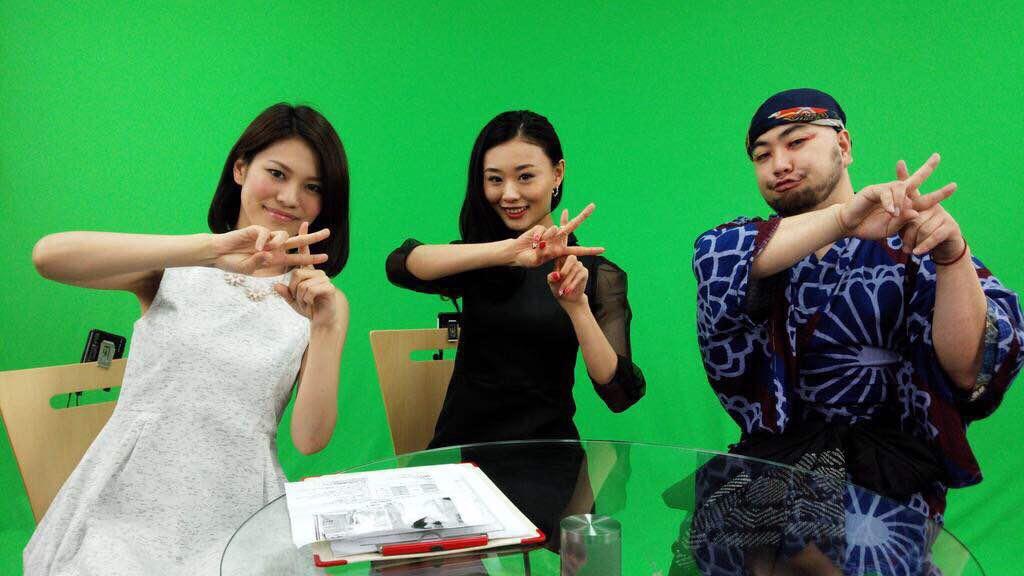 画像: カワコレポーズ♡左から尾崎ハンナ、松永あやめ、人間だもの