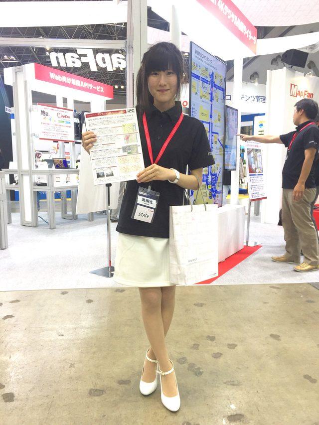 画像: スマートフォン&モバイルEXPO インクリメントブース♡田中菜依♡