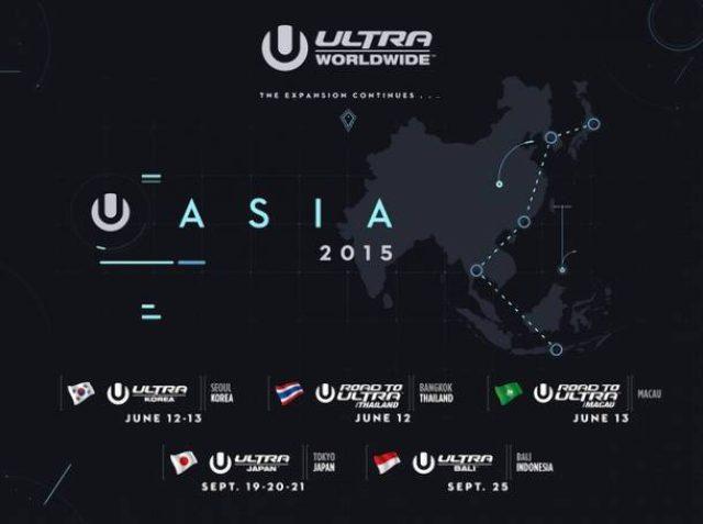 画像: Ultra Music Festivalが新たにマカオとタイでの開催を発表