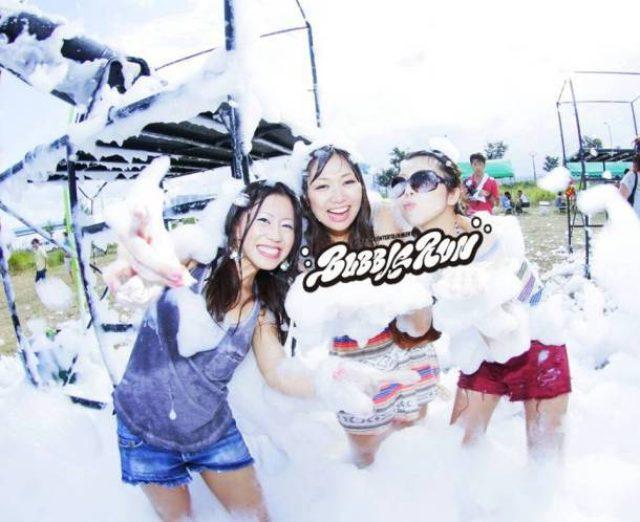 画像: 泡まみれになって走る「バブルラン」に9nine、Taku Takahashi、TJOら出演決定