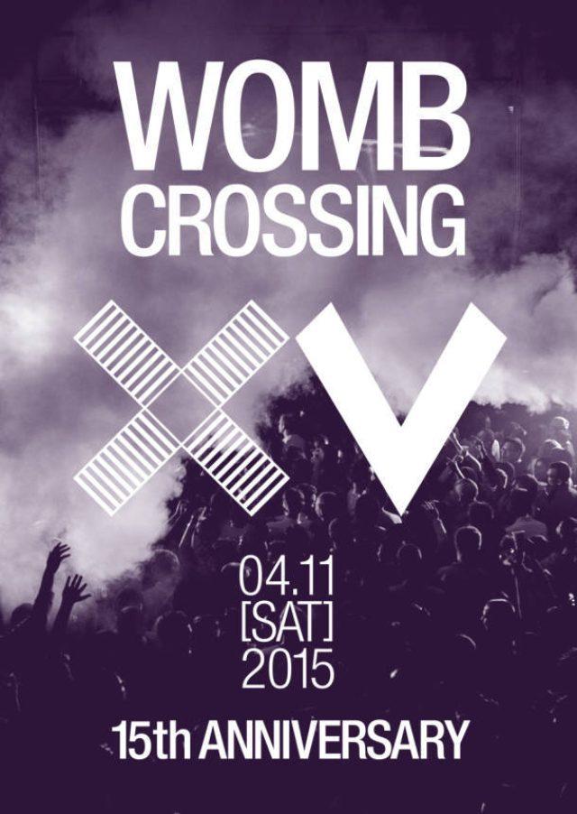 """画像: 渋谷WOMB、15周年パーティ「WOMB 15TH ANNIVERSARY """"WOMB CROSSING""""」を開催"""