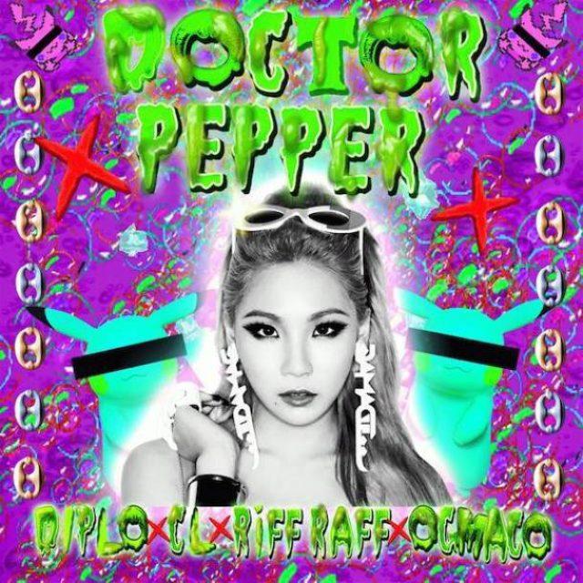 画像: DiploがCL(2NE1)、RiFF RAFF、OG Macoとコラボトラック「Doctor Pepper」を公開
