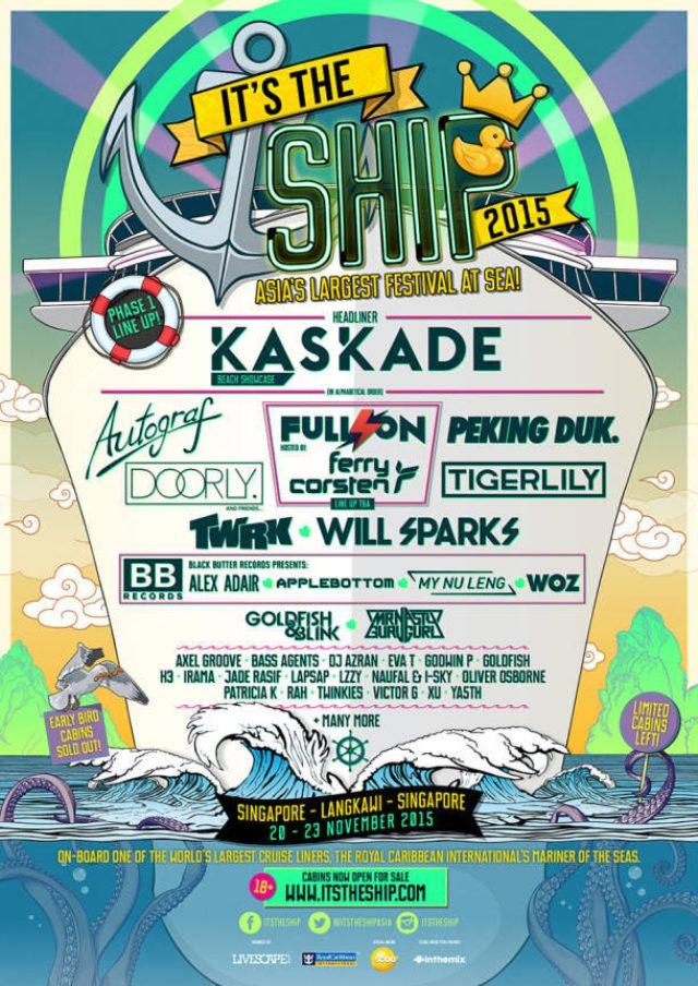 画像: アジア最大級クルージング・パーティー「It's The Ship」今年も開催決定!